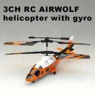 La vie réelle 3.5ch hélicoptère rc. Dauphin. simulateur d'hélicoptère