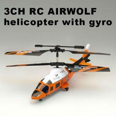 3.5ch de la vida real del helicóptero del rc. Delfín simulador de helicóptero