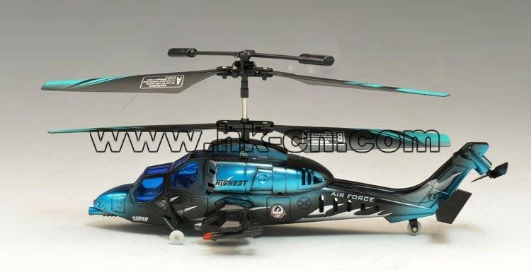 mini helicóptero del rc con auto función de demostración