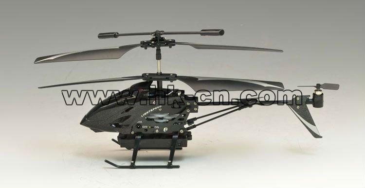 controlado de infrarrojos rc helicóptero de la cámara