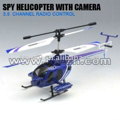 La vie réelle 3.5ch caméra hélicoptère rc