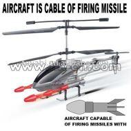 de tir de missile avec commande radio hélicoptère rc