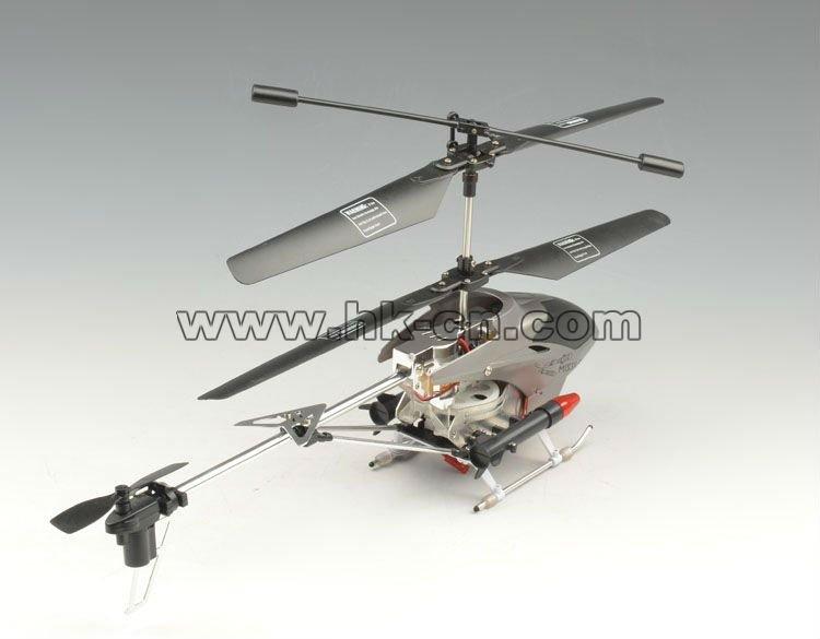 el disparo de misiles rc helicóptero con control de radio