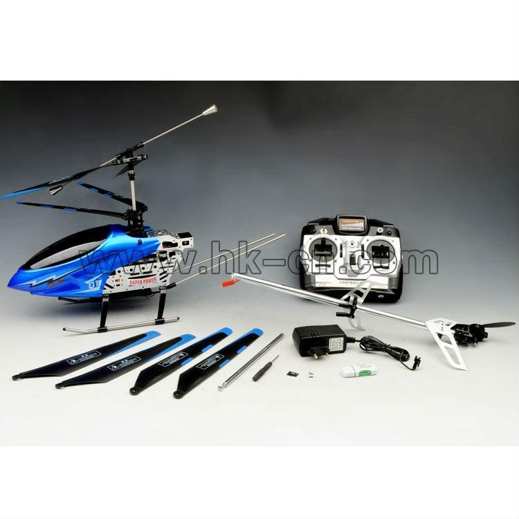 3.5ch rc helicóptero con cámara caliente- venta de juguete del rc