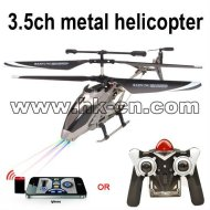 3.5ch hélicoptère en métal
