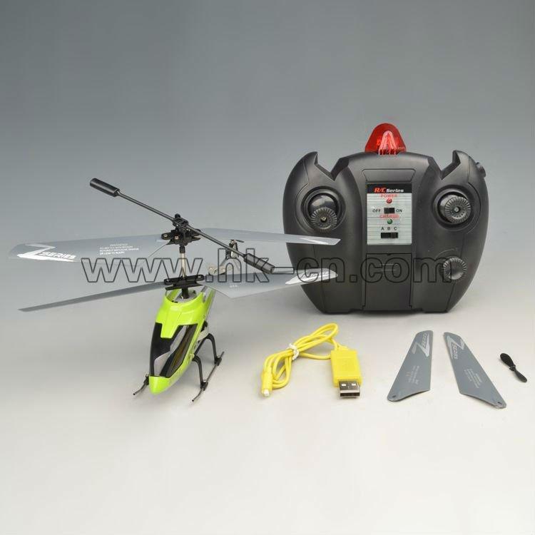 3.5ch helicóptero de control remoto( con protección de la batería junta)