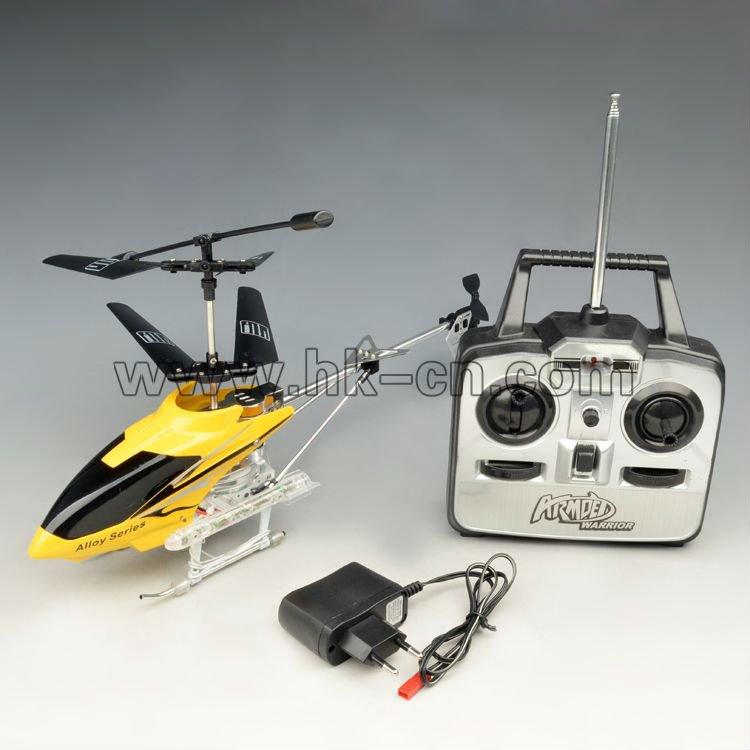3.5ch helicóptero de control remoto con luces led