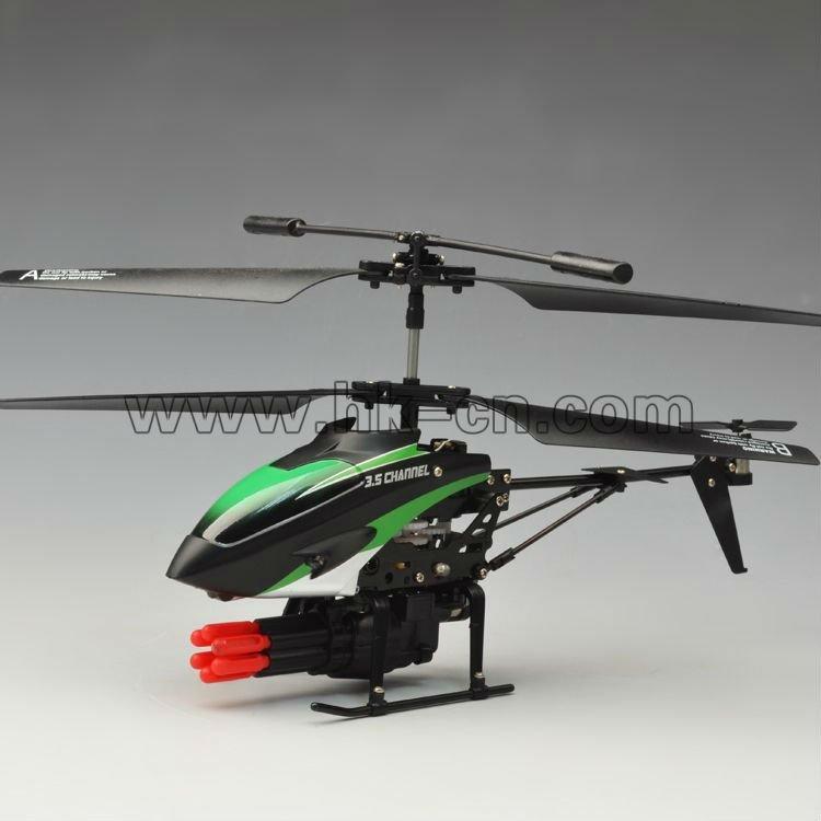 De los misiles 3.5ch tiro helicóptero del rc helicóptero del airsoft/helicóptero del rc airsoft/helicóptero del rc airsoft pistola