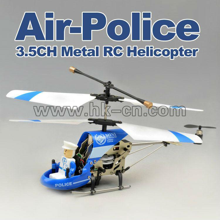 Nouveau style 3.5 channel rc helicopter avec aircop