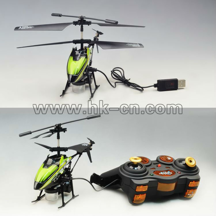 3.5 canal. metal rc helicopter avec bulle. soufflage. fonction