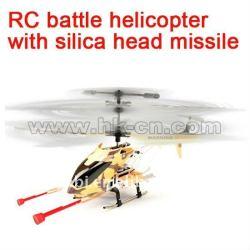 metal rc helicopter avec la fonction de tir de missile