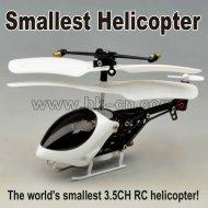 Más pequeño 2012 3.5ch iphone rc helicóptero del rc( 8cm sólo)