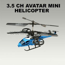 3.5 channel rc mini hélicoptère style d'avatar scorpion