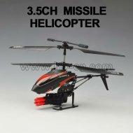 3.5ch de missiles d'hélicoptères