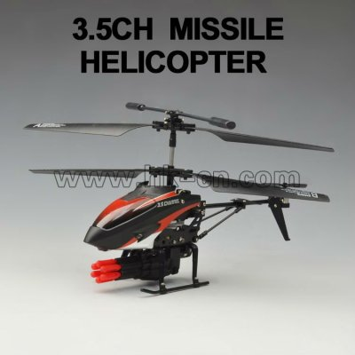 3.5ch helicóptero de misiles