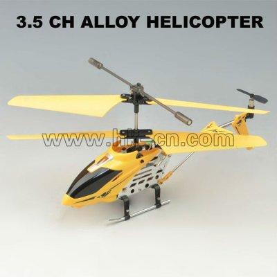 3.5ch de metal de aleación rc helicóptero de gpps con caja de regalo