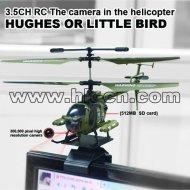 de la vida real de la cámara del helicóptero del rc