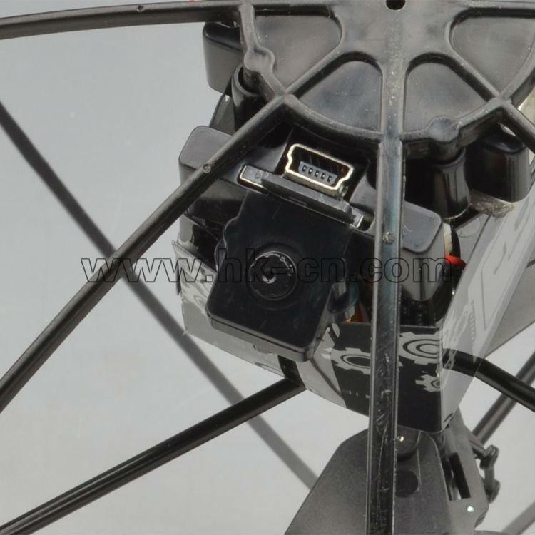 3.5 canales de control remoto platillo volante con la cámara ovni rc de juguete