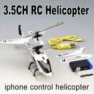 Iphone. contrôléechargeur 3ch mini hélicoptère de rc avec le compas gyroscopique