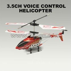 3.5 canal controlado por voz del helicóptero del rc