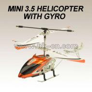 3.5ch mini hélicoptère de rc avec les lumières& auto- démo.