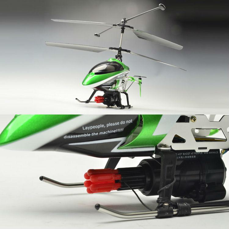 de voz 3ch control helicóptero de misiles