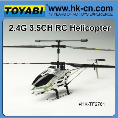 2.4g structure en alliage d'hélicoptère