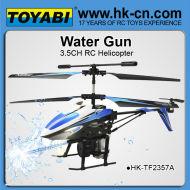 Eau shot 3.5 channel rc gros hélicoptère