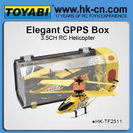 Modèle king 3.5ch hélicoptère alliage métallique hélicoptère rc
