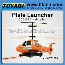 3.5ch helicóptero del rc airsoft de diseño similar con spin master