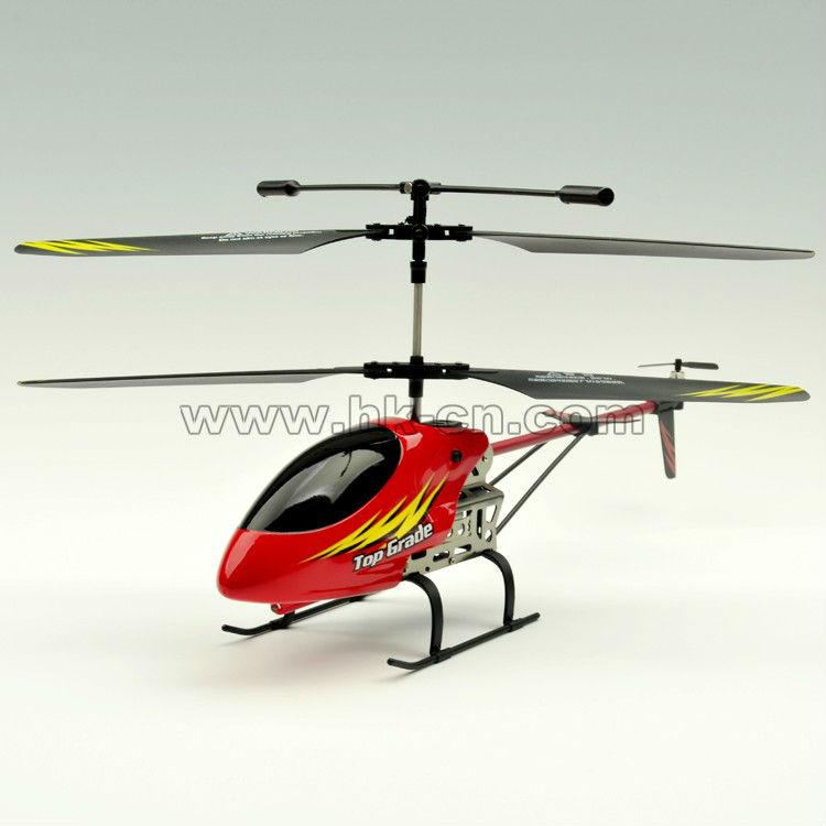 30cm 3.5 canal estructura de aleación de helicóptero con auto demo