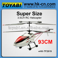 Big 90cm 3.5ch hélicoptère hélicoptère rc, grande échelle rc hélicoptères à vendre