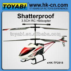 42cm anti- preuve 3.5ch rc hélicoptère rc hélicoptère de la chine