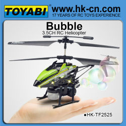 3.5 canal. série metal hélicoptère avec la fonction de soufflage bulle. hélicoptères rc de gros