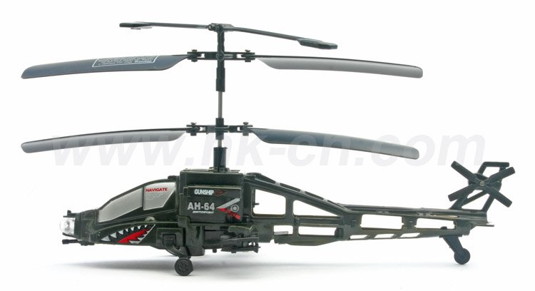 Mini 2- channel rc real life style hélicoptère à double rotor