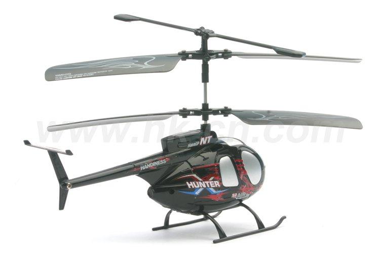 Mini 2- canal real rc helicóptero de la vida con doble rotor
