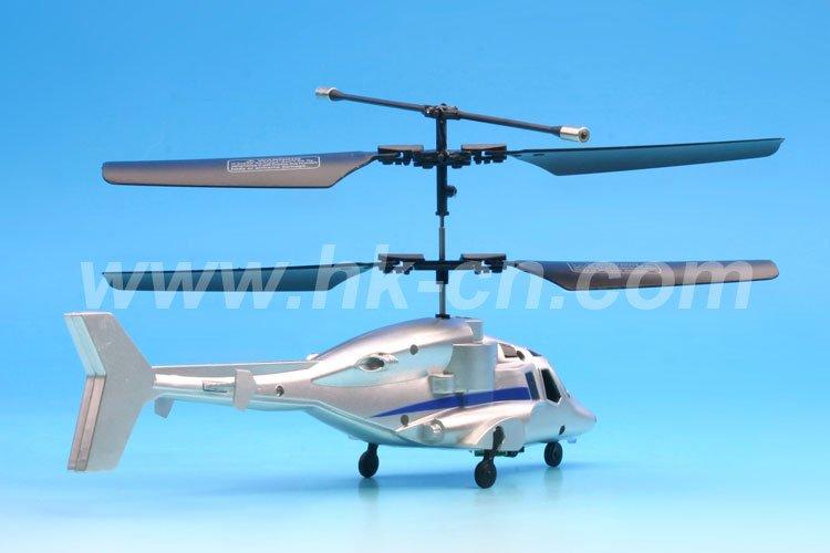 Mini 2- canal rc helicóptero con luz led