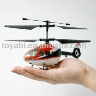 Helicóptero, juguetes del rc modelo 4ch mini rc helicóptero con el girocompás