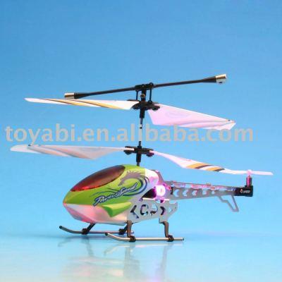 Hélicoptère de rc, rc jouets modèle mini 3- canal jouets modèle rc hélicoptère avec gyro