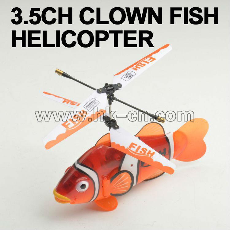 Helicóptero de pez payaso/infrarrojos helicóptero/mini helicóptero del rc