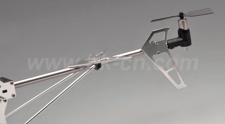 Rc 3.5- canal de la serie de metal helicóptero con el girocompás
