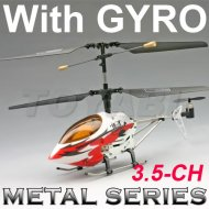 Helicóptero del rc, mini rc 3.5- canal de la serie de metal helicóptero con el girocompás