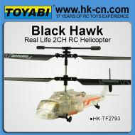 infared 2ch black hawk hélicoptère rc hélicoptères rc hélicoptères rc de gros pour la vente