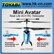 4.5ch amovible. l'aile. infared avatar hélicoptère rc hélicoptères rc hélicoptères rc de gros pour la vente