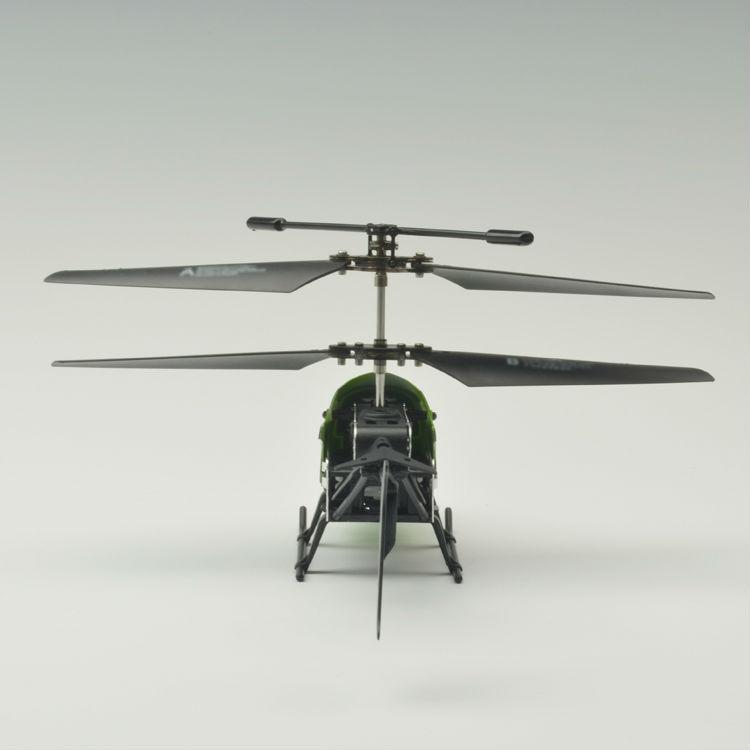 Bricolaje 2ch mini helicóptero del metal/venta caliente de metal helicóptero/2ch auto montaje del helicóptero