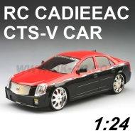 Lizenziert rc maßstab 1:24 cadieeac cts-v spielzeug auto