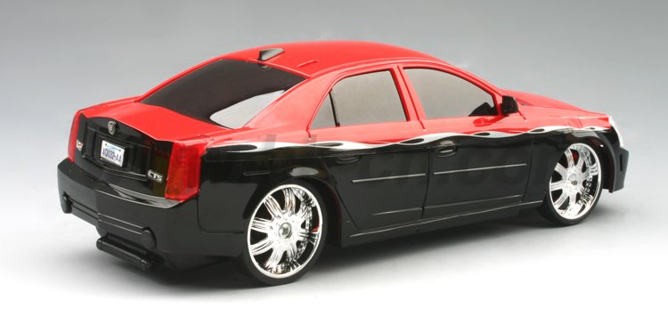 1:24 escala rc licencia cadieeac cts-v coche de juguete