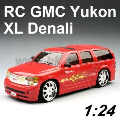1:24 Échelle licence rc. gmc yukon xl. denali voiture de jouet