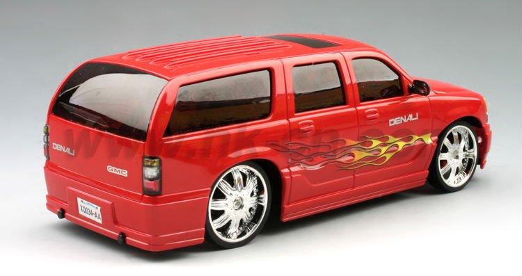 1:24 escala rc licencia gmc yukon xl denali coche de juguete