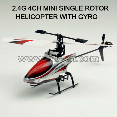 2.4g seule lame hélicoptère rc, toyabi jouets rc